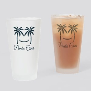 Palm Trees Punta Cana T-Shirt Drinking Glass